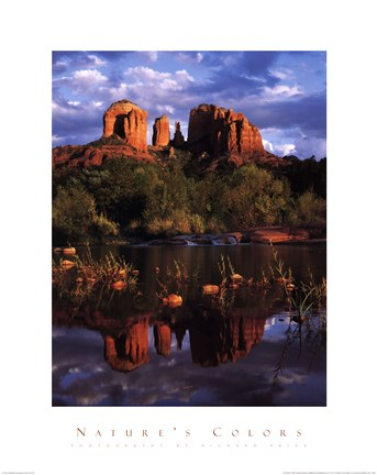 Framed Cathedral Rock Print