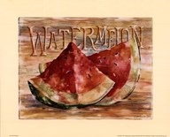 Fruit Stand Watermelon  Fine Art Print