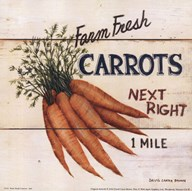 Farm Fresh Carrots Art