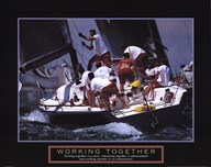 Working Together - Sailors Art