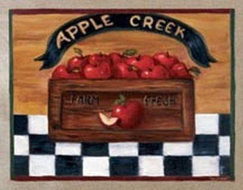 Framed Apple Creek Apples Print
