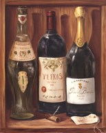 Wine Cabinet II Art