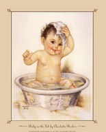 Baby In The Tub Art