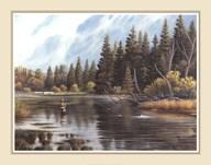 Fly Fishing  Fine Art Print