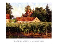 Chateux at Buxy  Fine Art Print