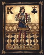 Harlequin King - Mini  Fine Art Print
