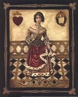 Harlequin Queen - Mini  Fine Art Print