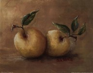 Vineyard Blessings-Gold Deli Apple Art