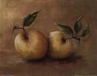 Vineyard Blessings-Gold Deli Apple Art
