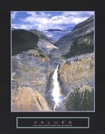 Values - Takakkaw Falls Art