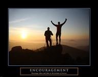 Encouragement - Climbers  Fine Art Print