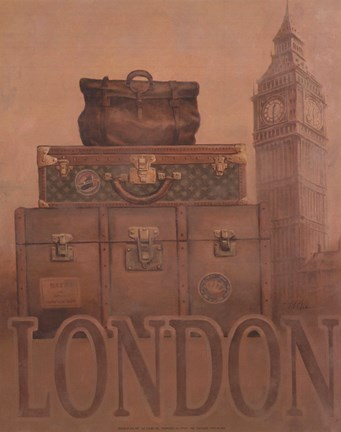 Framed Travel - London Print