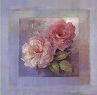 Roses on Blue I