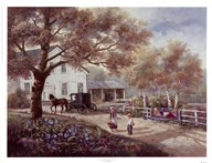Amish Country Home  Fine Art Print