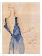 Blue Dress I Art
