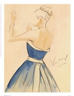 Blue Dress II Art