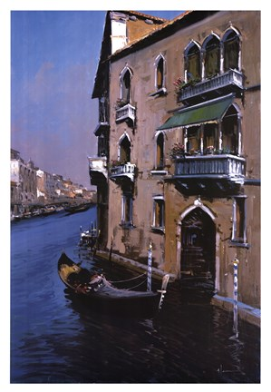 Framed Grand Canal Print