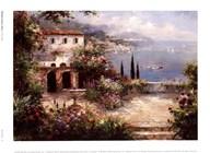 Mediterranean Villa Art