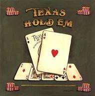 Texas Hold Em  Fine Art Print