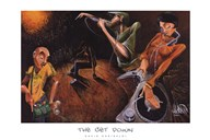 The Get Down  Fine Art Print