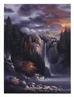 Misty Falls  Fine Art Print