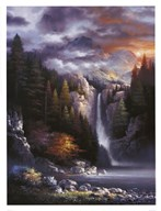 Misty Falls Art