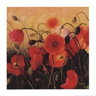 Poppy Party Art