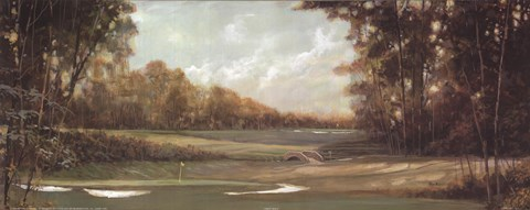 First Hole Fine Art Print By Ruane Manning At