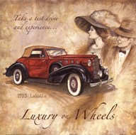 Luxury On Wheels  Fine Art Print
