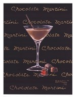 Chocolate Martini Art