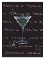 Choco-Mint Martini  Fine Art Print