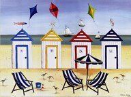 Beach Houses Art