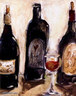 Glass Of Red Art