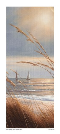 Framed Sailboat Breezeway Panel II Print