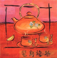 Asian Tea Set III
