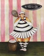 Babs First Lesson  Fine Art Print