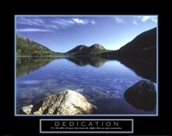 Dedication - Jordan Pond Art