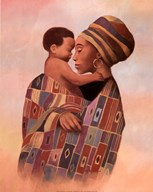 Family Values Woman  Fine Art Print