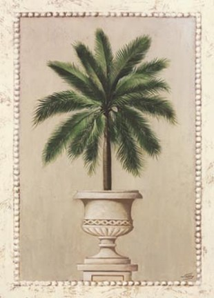 Framed Palm Appeal I Print