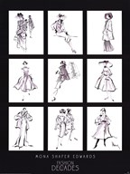 Fashion Through The Decades  Fine Art Print