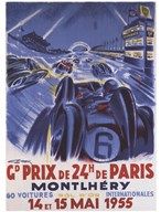 Grand Prix De Montlhery  Fine Art Print