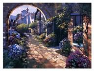 Villa Cipriani Archway  Fine Art Print