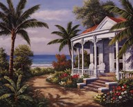 Summer House II  Fine Art Print
