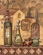 Flavors Of Tuscany III Art
