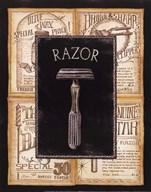 Grooming Razor Art