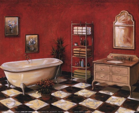 Framed Windsor Bath II Print