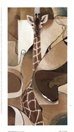Giraffe Abstract Art