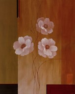 Three White Flowers II Art