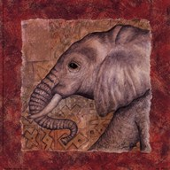 Elephant Safari  Fine Art Print