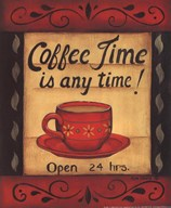 Coffee Time Is Anytime Art